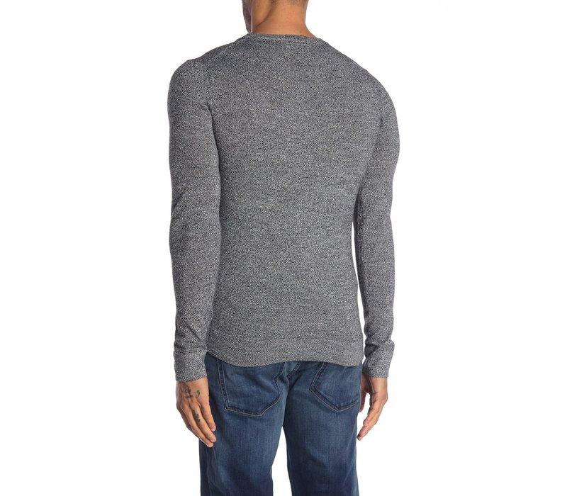 Mouliné Knit W. O-Neck Style: 30-81147