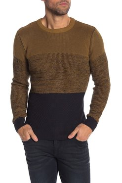 Lindbergh Multiple Structure O-Neck Knit