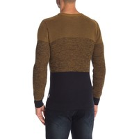 Multiple Structure O-Neck Knit