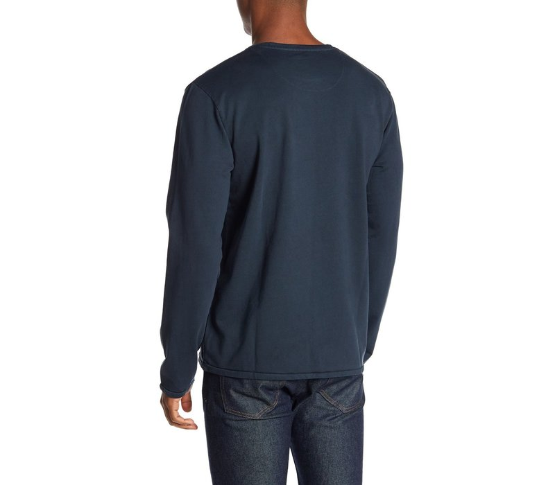 Lindbergh Blue Pull Over L/S