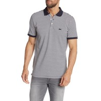 Striped Stretch Polo Shirt S/S Style: 30-40067
