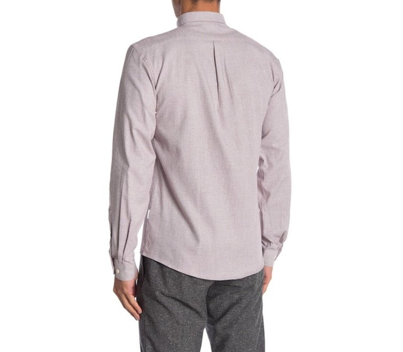 Mouliné stretch shirt