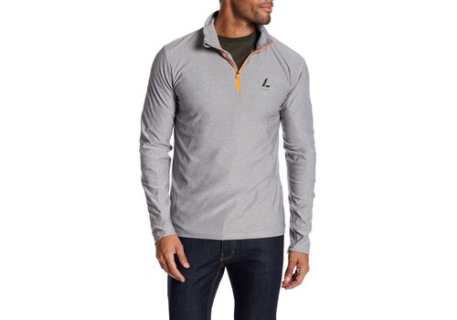Lindbergh Running Tee W. Stand-Up Collar