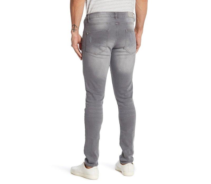 5-Pocket Stretch - Cement Grey Style: 30-00015CEM