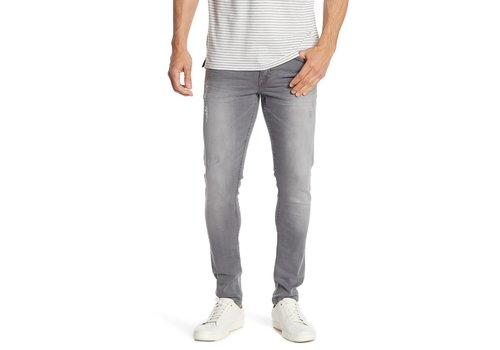 Lindbergh 5-Pocket Stretch - Cement Grey