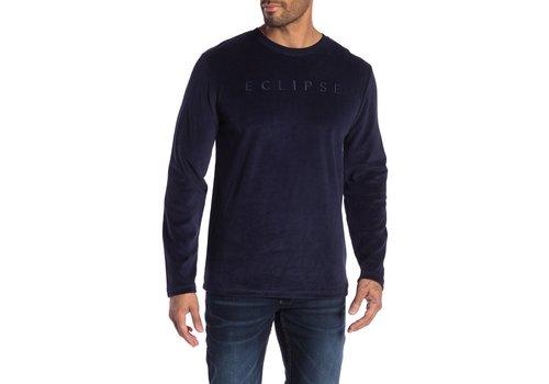 Lindbergh Printed Velvet Sweatshirt