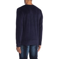 Printed Velvet Sweatshirt L/S :30-70054A