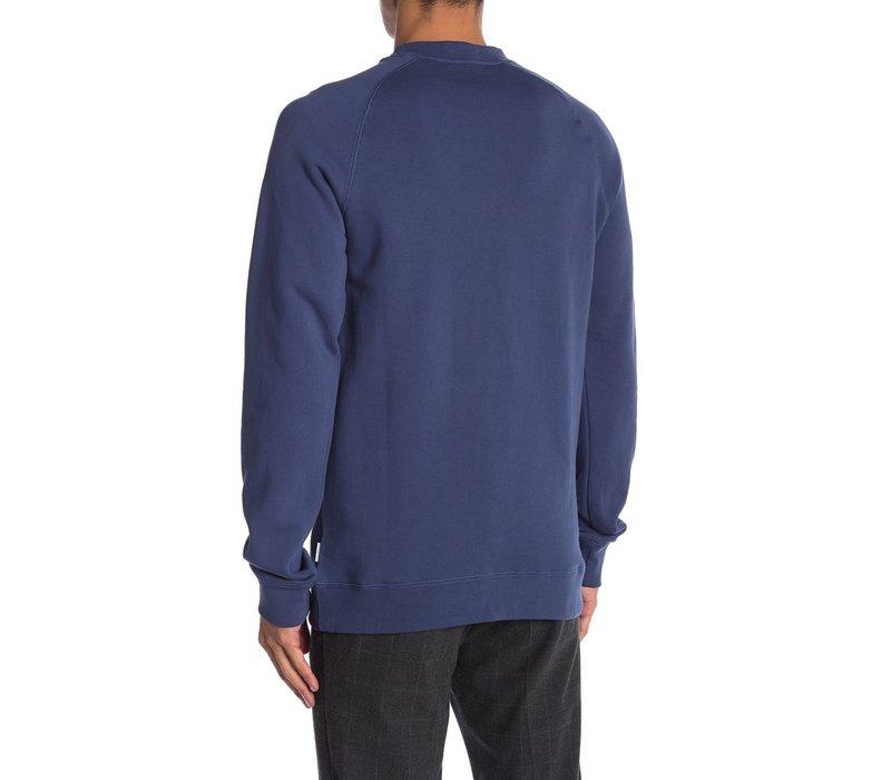 Sweater W. Flock Print Style: 30-70003