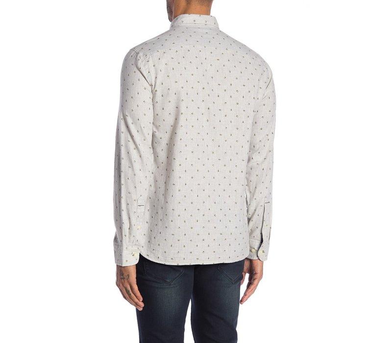Mélange Printed Shirt L/S