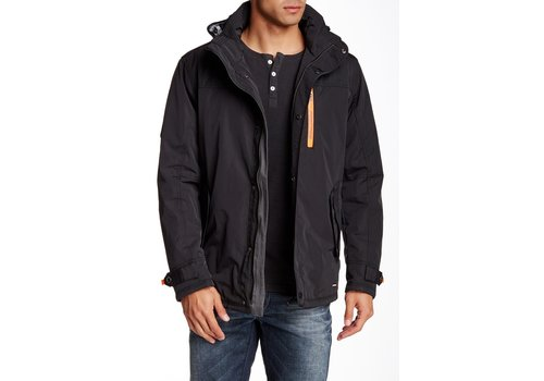 Bison Functional Jacket W. Patches Zealed Zipper & Reflective