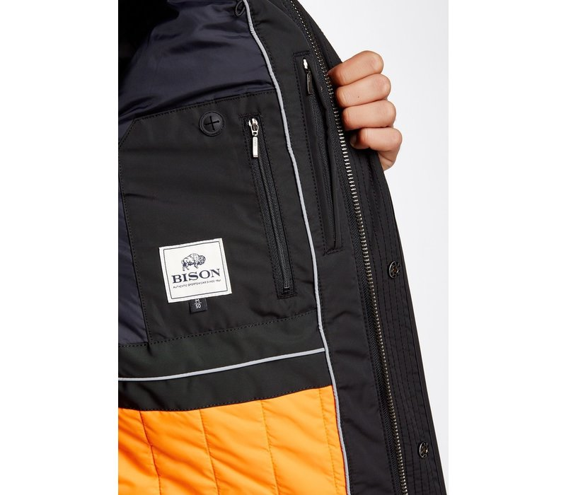 Functional Jacket W. Patches Zealed Zipper and Reflective Style: 80-37076