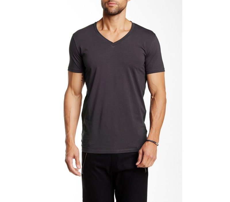 \Men's Stretch V-Neck Tee S/S: 30-48001