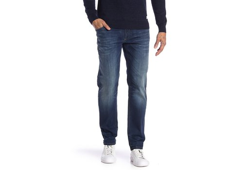 Lindbergh Tapered Fit Jeans - Ink Wash