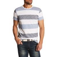 Tee W. Y/D Uneven Stripes S/S Style: 30-48815