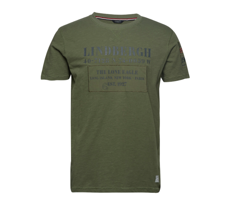 LINDBERGH Appliqué Tee S/S: 30-47470