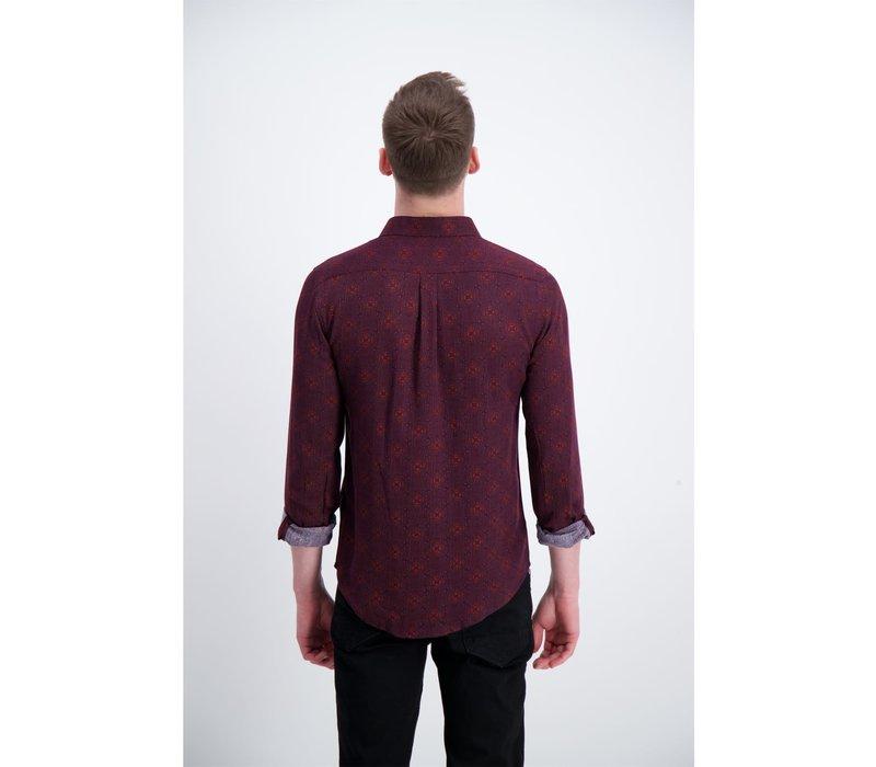 Ornamental Viscose Shirt L/S: 30-22062