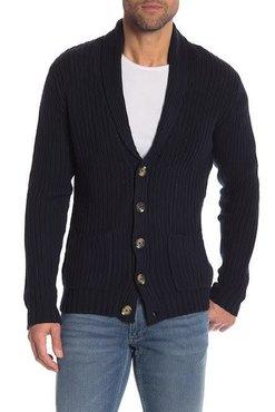 Lindbergh Half-Cardigan Stitch Knit