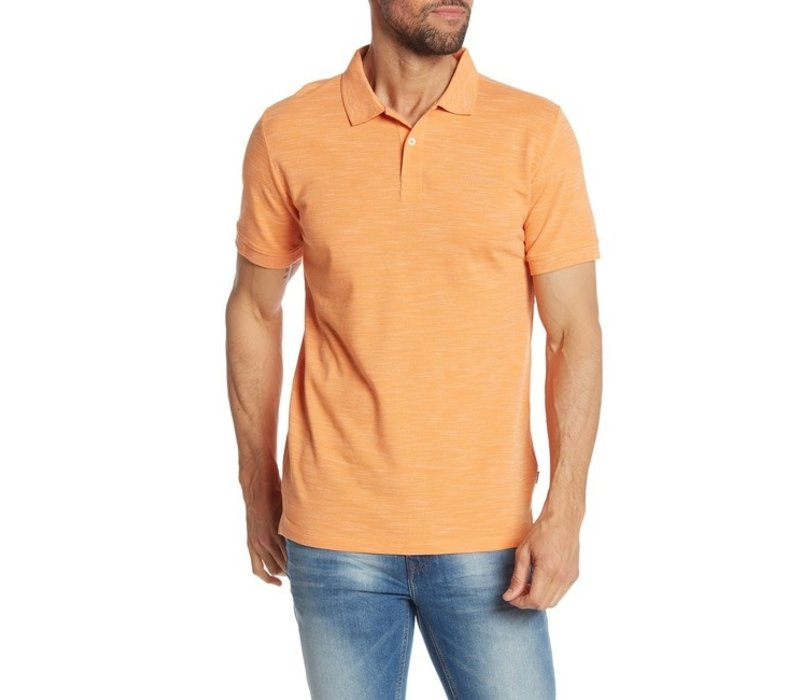 Space Dyed Polo W. Solid Collar S/S Style: 30-49020