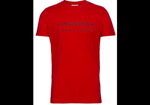Lindbergh Logo Print Tee S/S: 30-40069