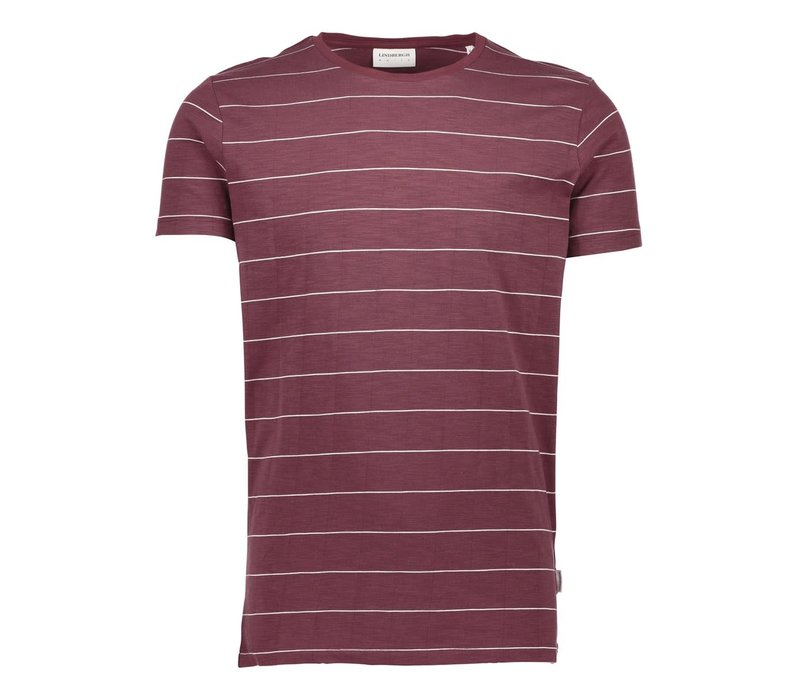 Striped Slub-Tee S/S Style: 30-40061