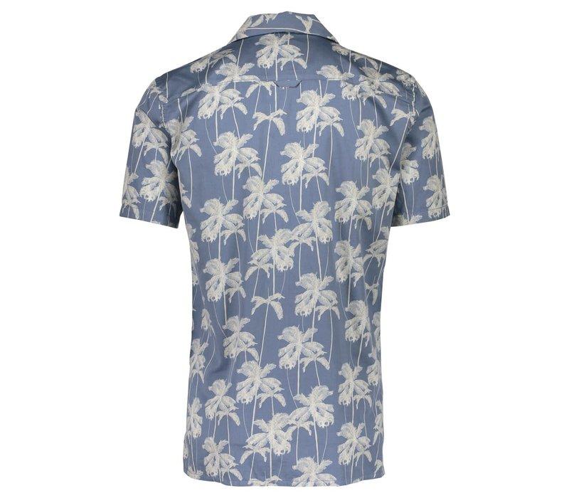 Hawaiian Printed Shirt S/S: 30-24855A