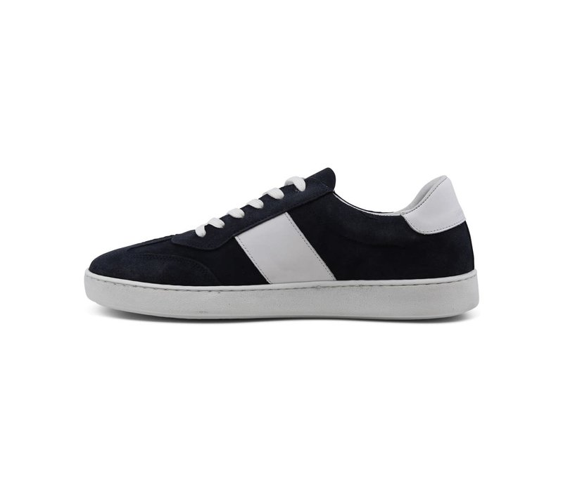 Contrast Suede Trainers: 60-91210