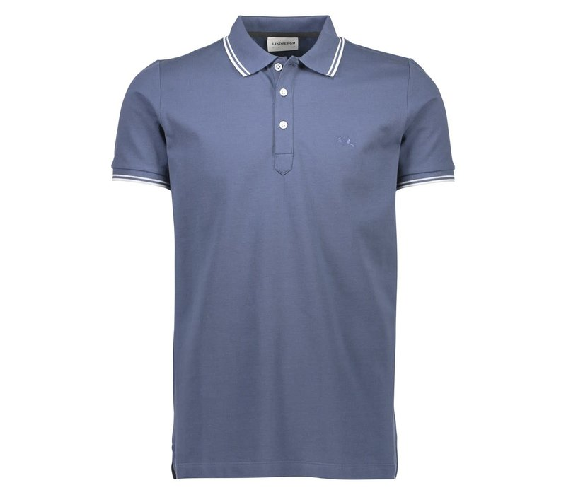 Polo Shirt W. Contrast Piping Style: 30-404000USYO
