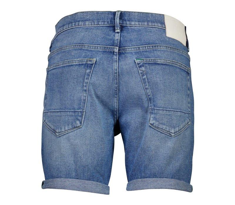 Wiser Wash Indigo Denim Shorts Style: 60-502002US