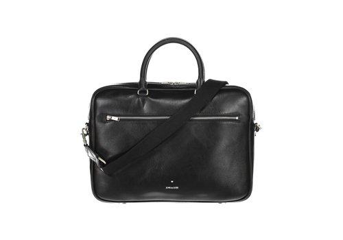 Junk de Luxe Leather Briefcase