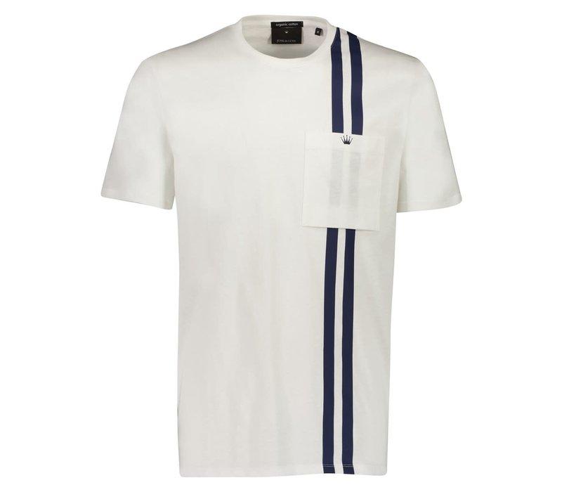 Contrast Stripe Tee S/S Style: 60-452002US