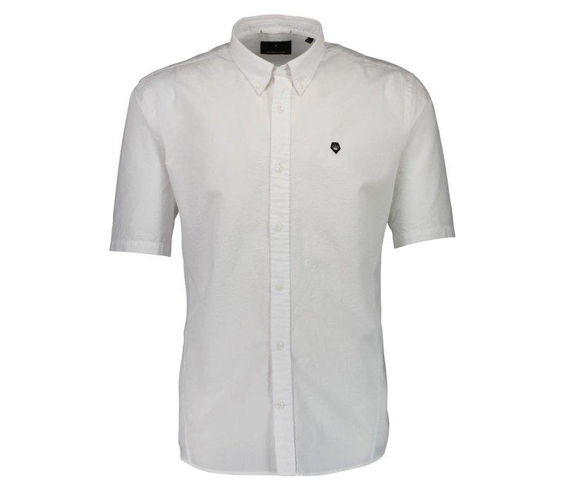 Seersucker Shirt S/S Style: 60-202001US