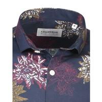 Floral Print Shirt L/S: 30-22068US