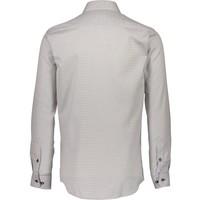 Hashtag Pattern Shirt L/S Style: 30-29632AUS