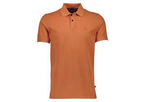 Lindbergh Garment Dyed Polo S/S