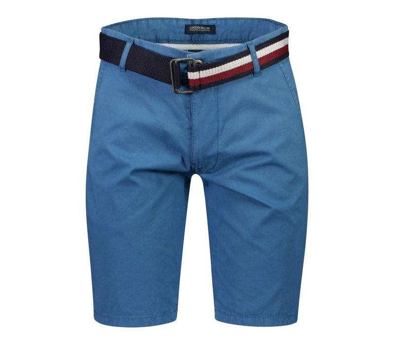 Chino Shorts W. Signature Belt Style: 30-520003US