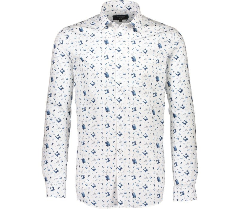 Printed Shirt L/S Style: 30-28038