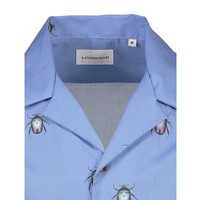 Printed Resort Shirt S/S: 30-21173