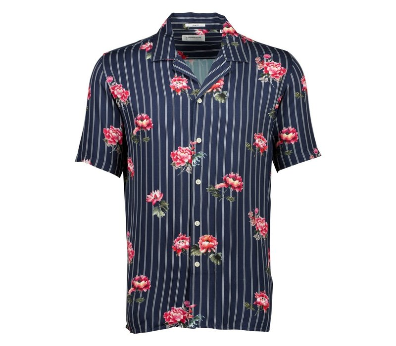 Floral Shirt S/S Style: 30-203045US