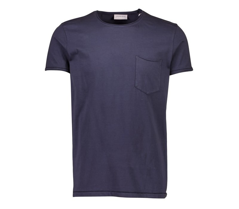 Washed Tee W. Pocket S/S Style: 30-400021US