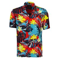 Resort AOP Flower Shirt S/S: 2-200035US