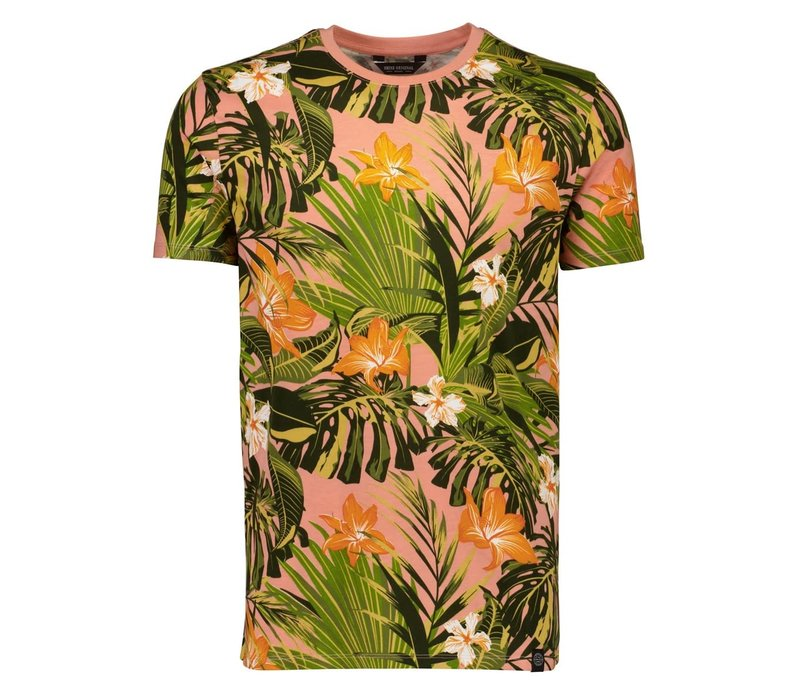 AOP Flower Tee S/S Style: 2-400048US