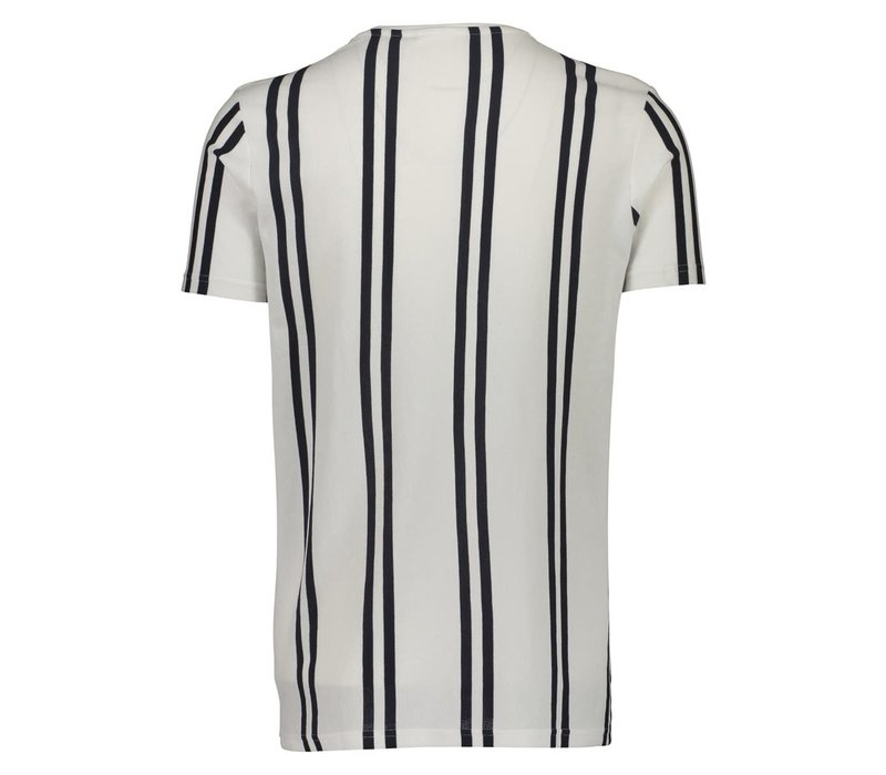 Striped Piqué Tee S/S Style: 30-400009US