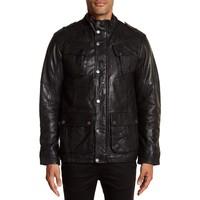 Leather Biker Jacket Style: 30-10020