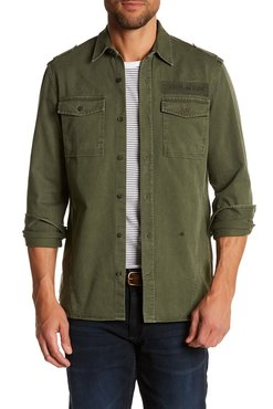 Junk de Luxe Washed Military Shirt L/S