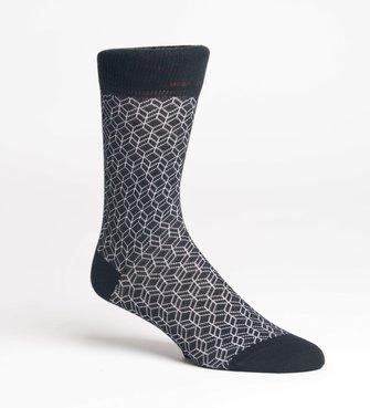 Lindbergh Diamond Pattern Sock