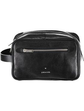 Junk de Luxe Leather Wash Bag