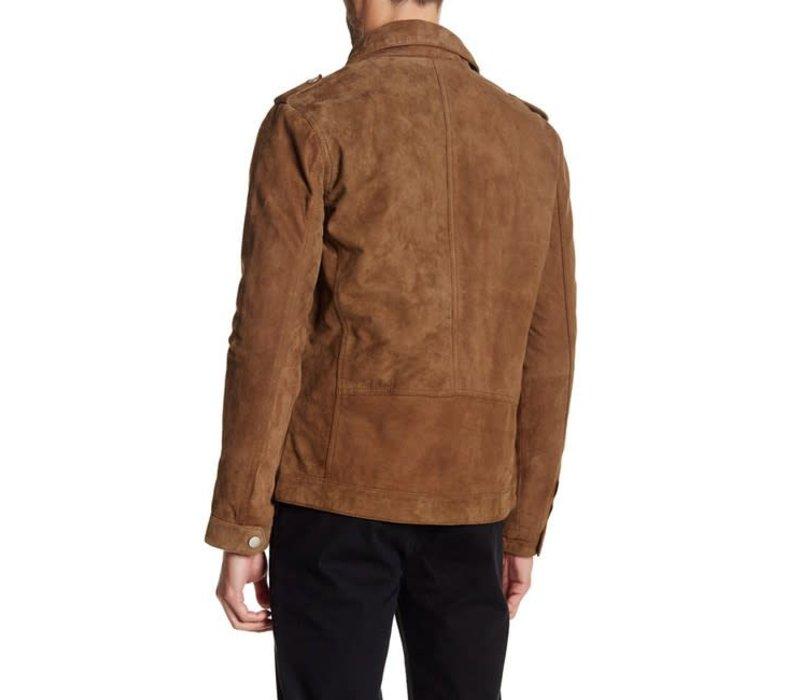 Short Goat Suede Jacket Style: 30-10040