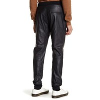Leather pants with zippers Style: 30-18112