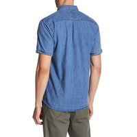 Chambray shirt S/S Style: 30-24643