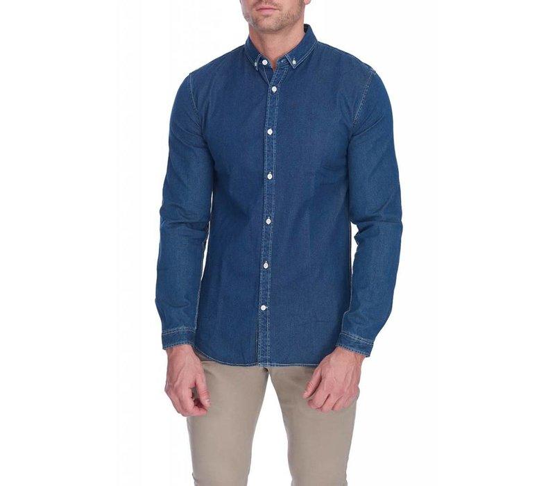 Denim shirt L/S Style: 30-29130